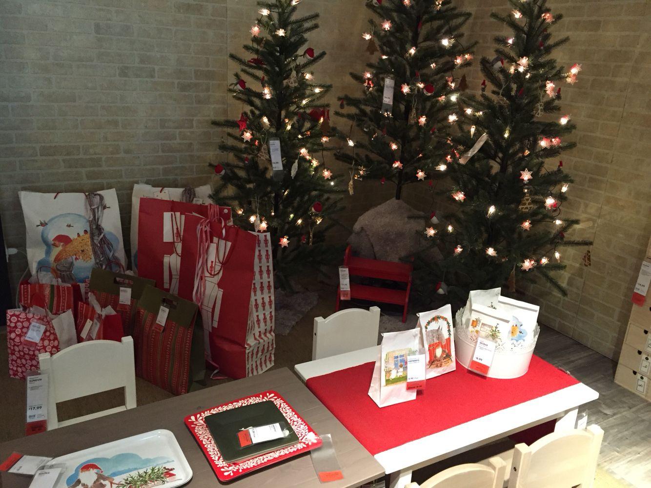 Segnaposto Natalizi Ikea.Natale Ikea Natale Christmas Christmas Tree E Home Decor