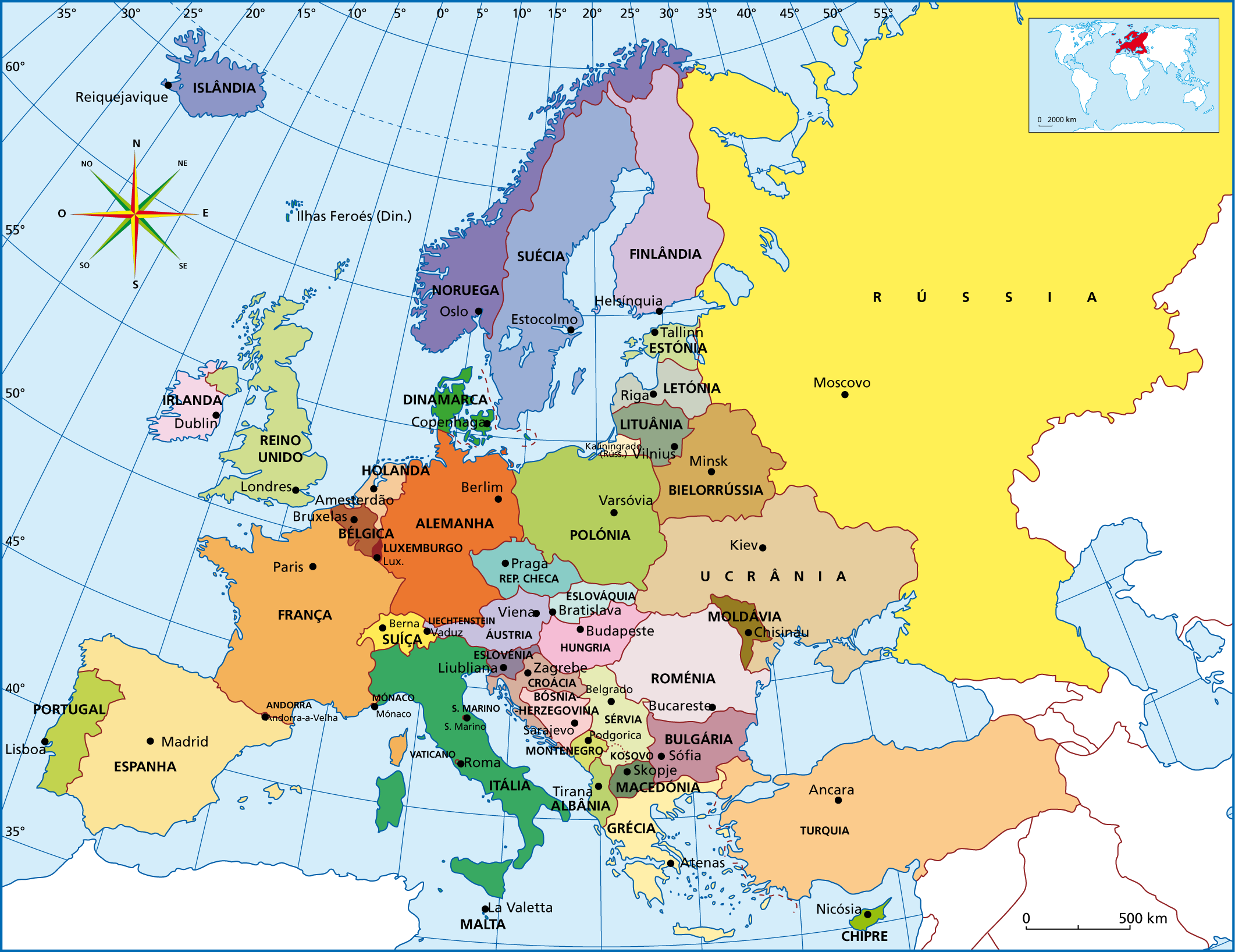 Resultado de imagem para mapa mundi europa   Mapas   Pinterest