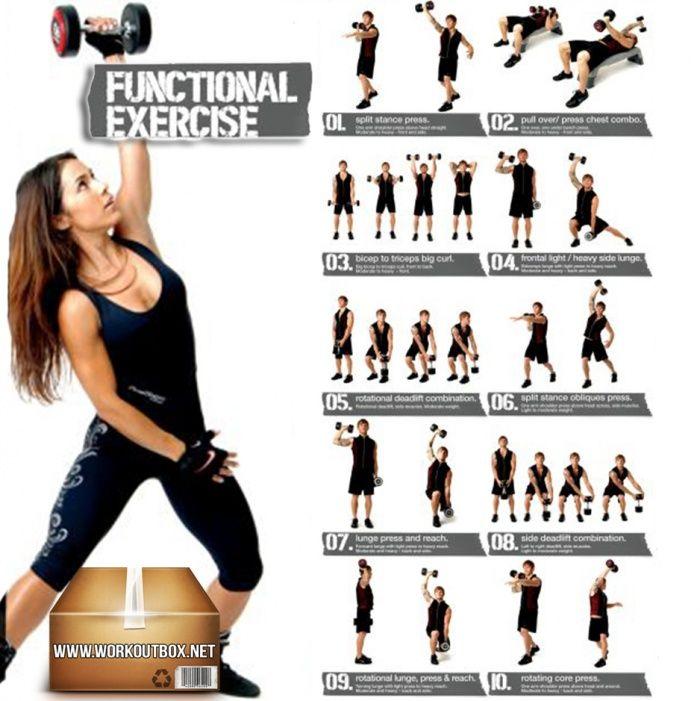 Dumbbell Exercises For Women And Men Functional Healthy Ab Leg Fitness Hashtag Dumbbell Exercises For Women Dumbbell Workout Dumbbell Exercises For Men