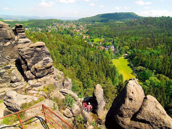 Nonnenfelsen, Jonsdorf, Oberlausitz   Urlaub, Schöne