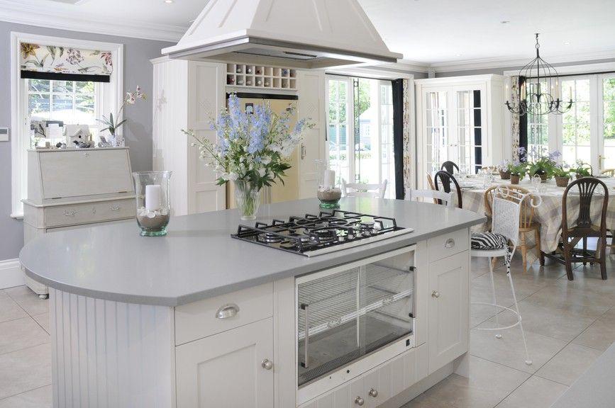 Stilvolle Küche mit großen Insel | Küche | Pinterest | Küchendesign ...