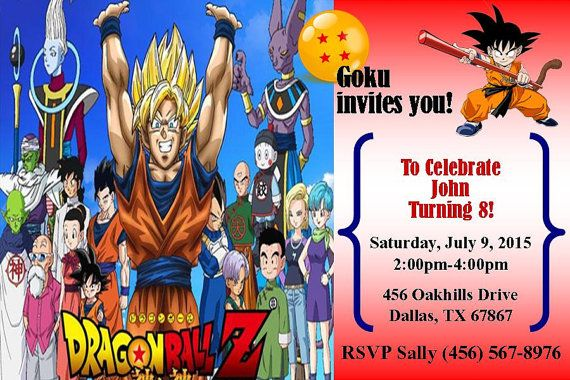 Pin By Royal Duke39s And Blue39s On Dragonball Birthday