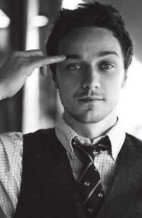 James McAvoy...can you blame me for having a crush on Mr. Tumnus???