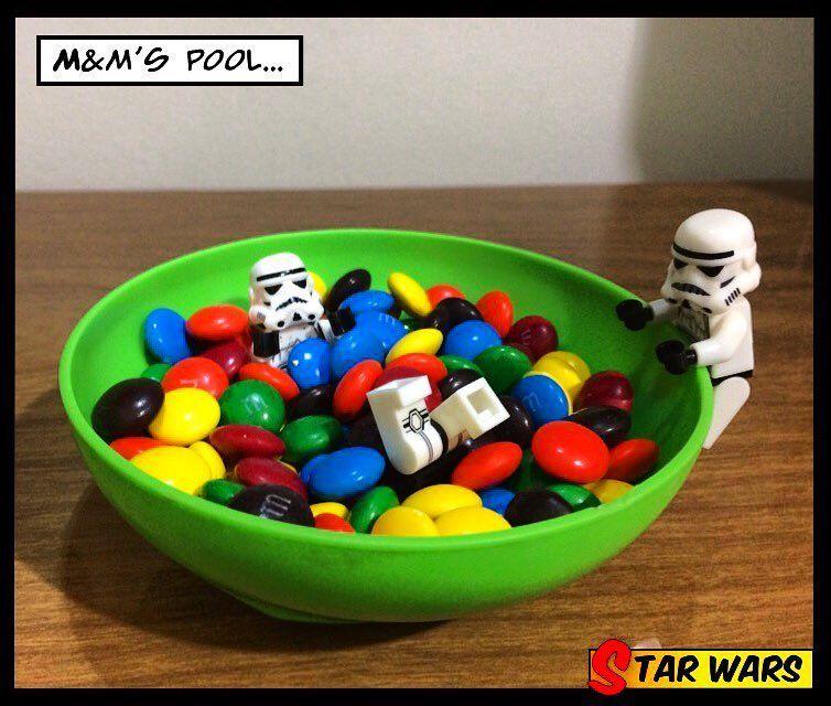M&M's Pool #lego #legos #stormtrooper #stormtroopers #starwars #legostormtrooper #legostarwars #starwarsfan #legophoto #legophotography #legominifigs #legominifigures #legostagram #instalego #legomania #legomaniac #legofun #legogram #legoo #legobricks by lego.comic
