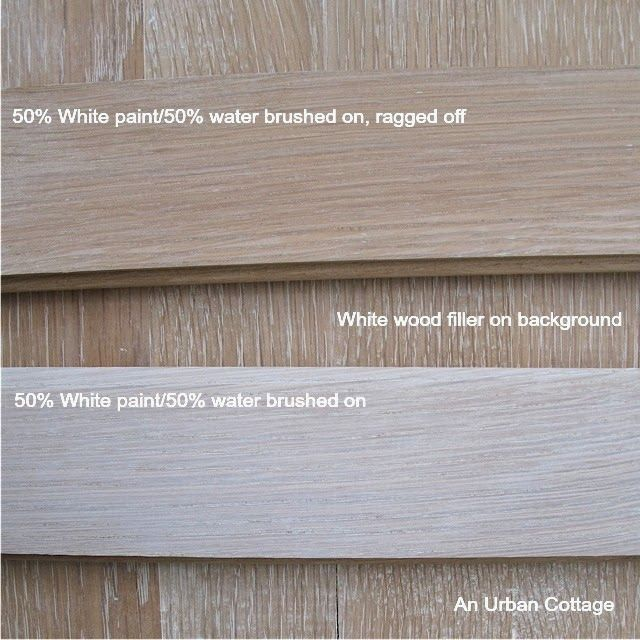 An Urban Cottage Testing Floor Finishes Love The Idea
