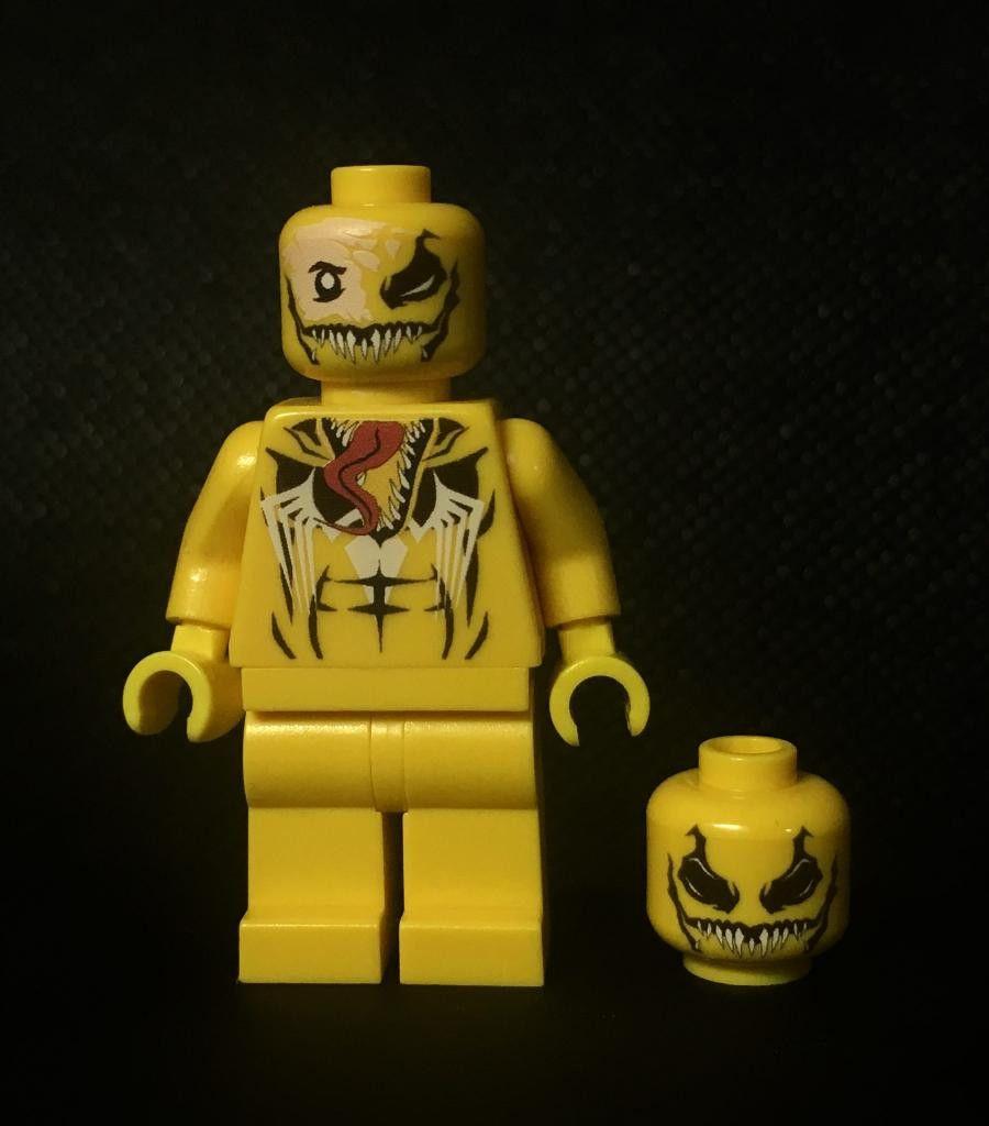 Venom (yellow) in 2020 | Venom movie, Mini figures, Lego ...