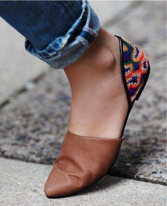 Zapatos súper lindos y frescos para las que odian las sandalias
