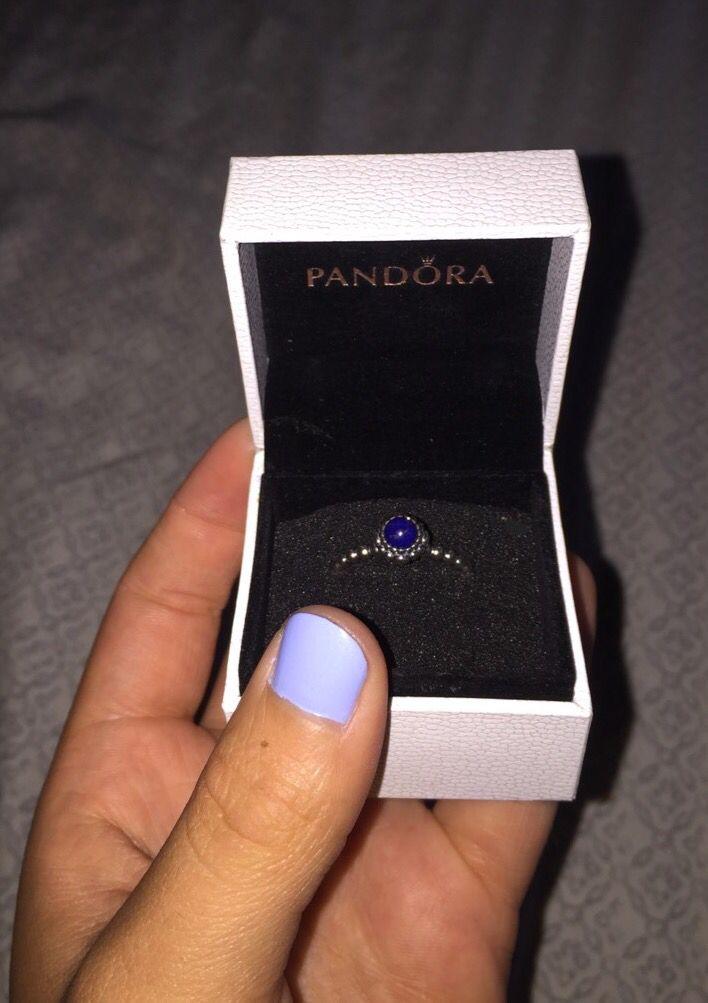 Pandora Ring Birthstone Ring September Sapphire September Birthstone Rings Pandora Rings Pandora Bracelets