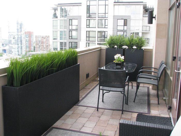 small rectangle balcony garden ideas