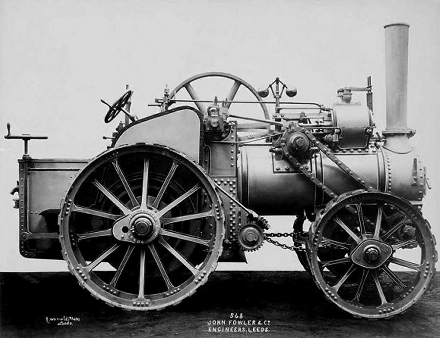 1885 4WD Fowler Traction Engine | History | Steam tractor, Steam