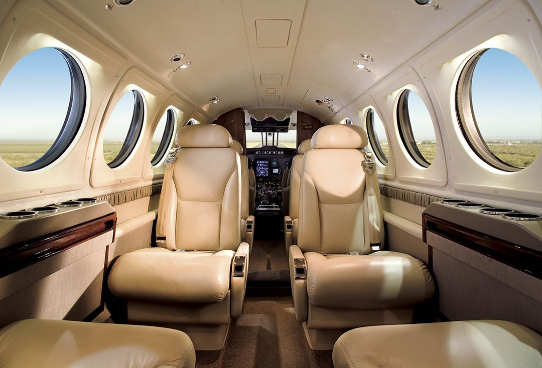 King Air 250 Interior Aviones y Industria