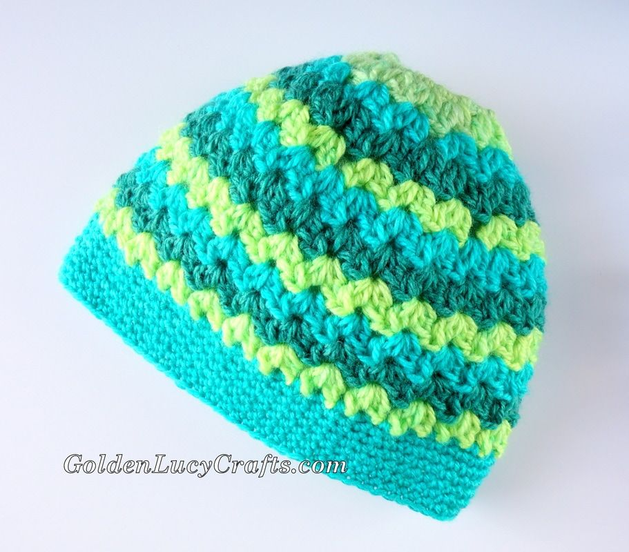 Messy Bun Hat Made with Caron Cakes Yarn, Winter Hat | Pinterest