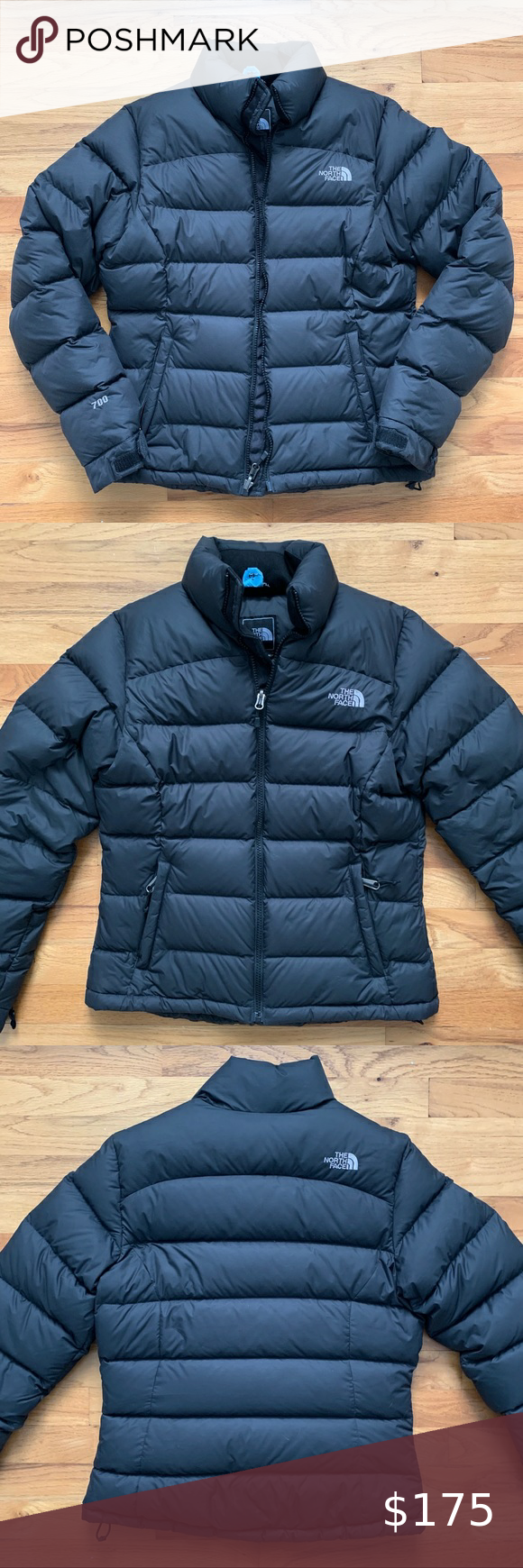 North Face Women S Black 700 Down Puffer North Face Women Black Puffer Coat North Face Jacket [ 1740 x 580 Pixel ]