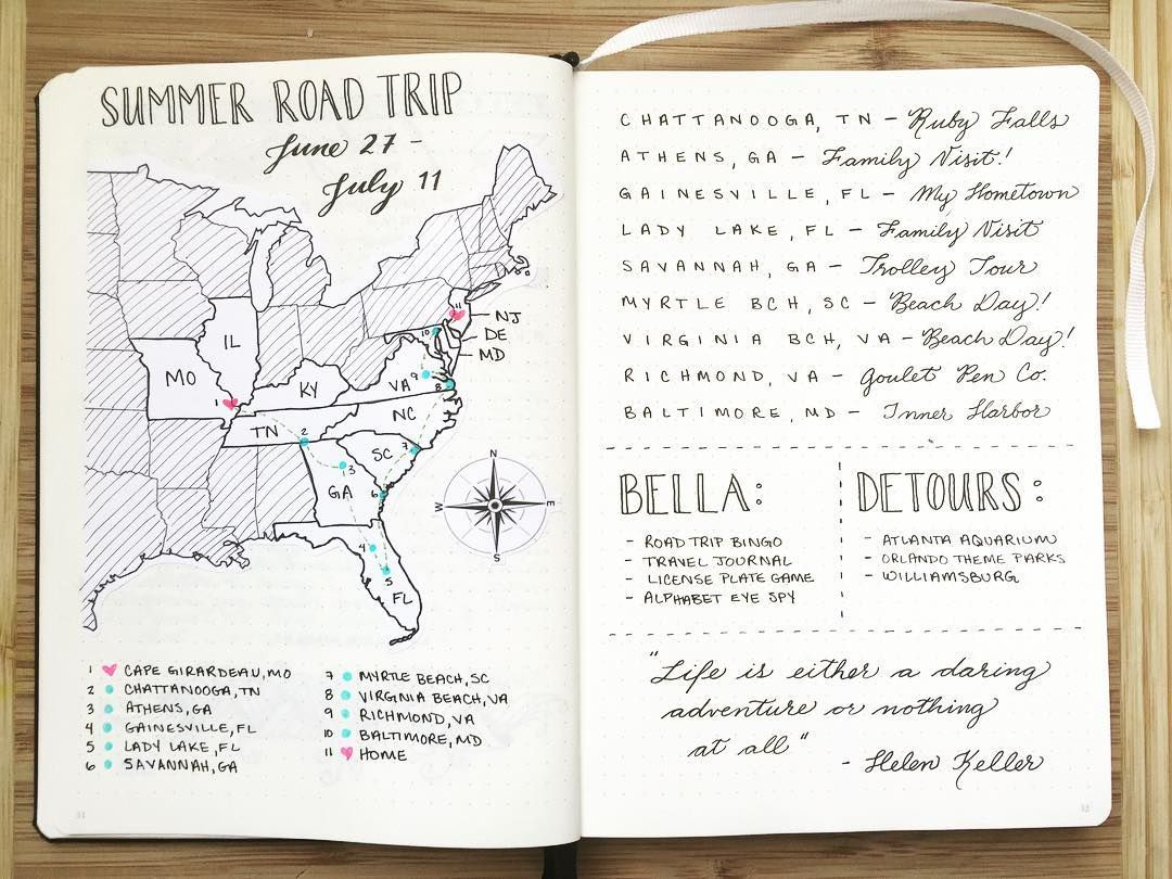 BohoberryFinally Getting Around To Official Road Trip Planning I - Blank map of the us travel log