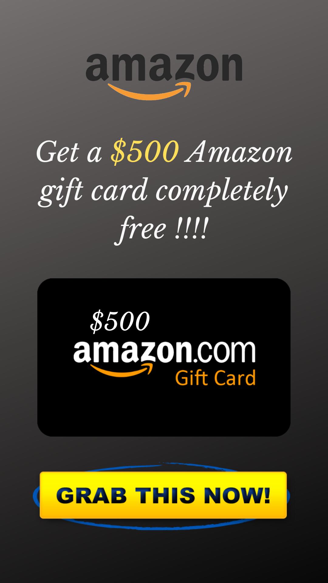 Giveaway Win A 500 Amazon Gift Card Amazon Gift Card Free Amazon Gift Cards Free Itunes Gift Card