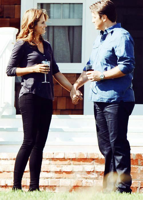 castle / stana katic / kate beckett / nathan fillion / richard castle
