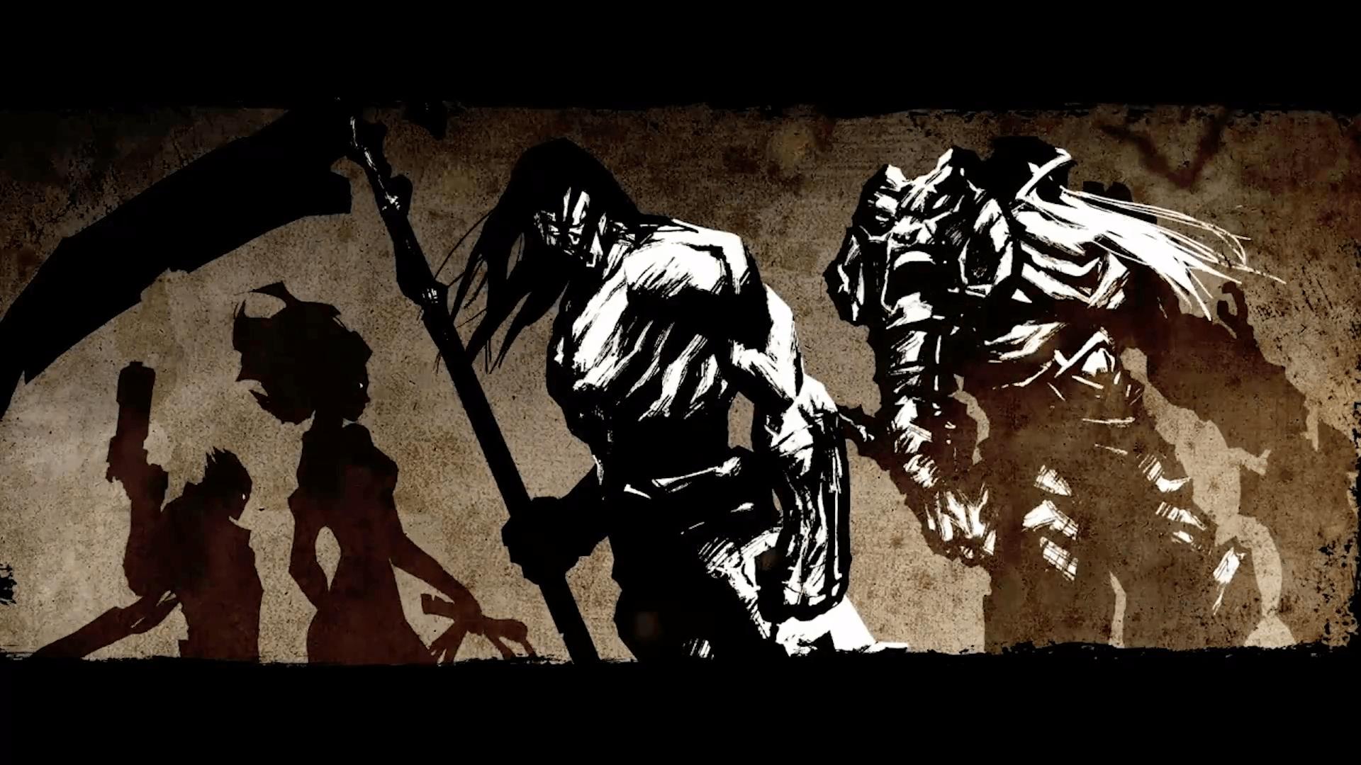 Games Wallpaper Darksiders Four Horsemen Wallpaper Hd Resolution