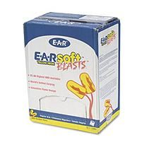 Photo of 3M – E·A·Rsoft Blasts Earplugs, Corded, Foam, Yellow Neon –  200 Pairs – Sam's Club