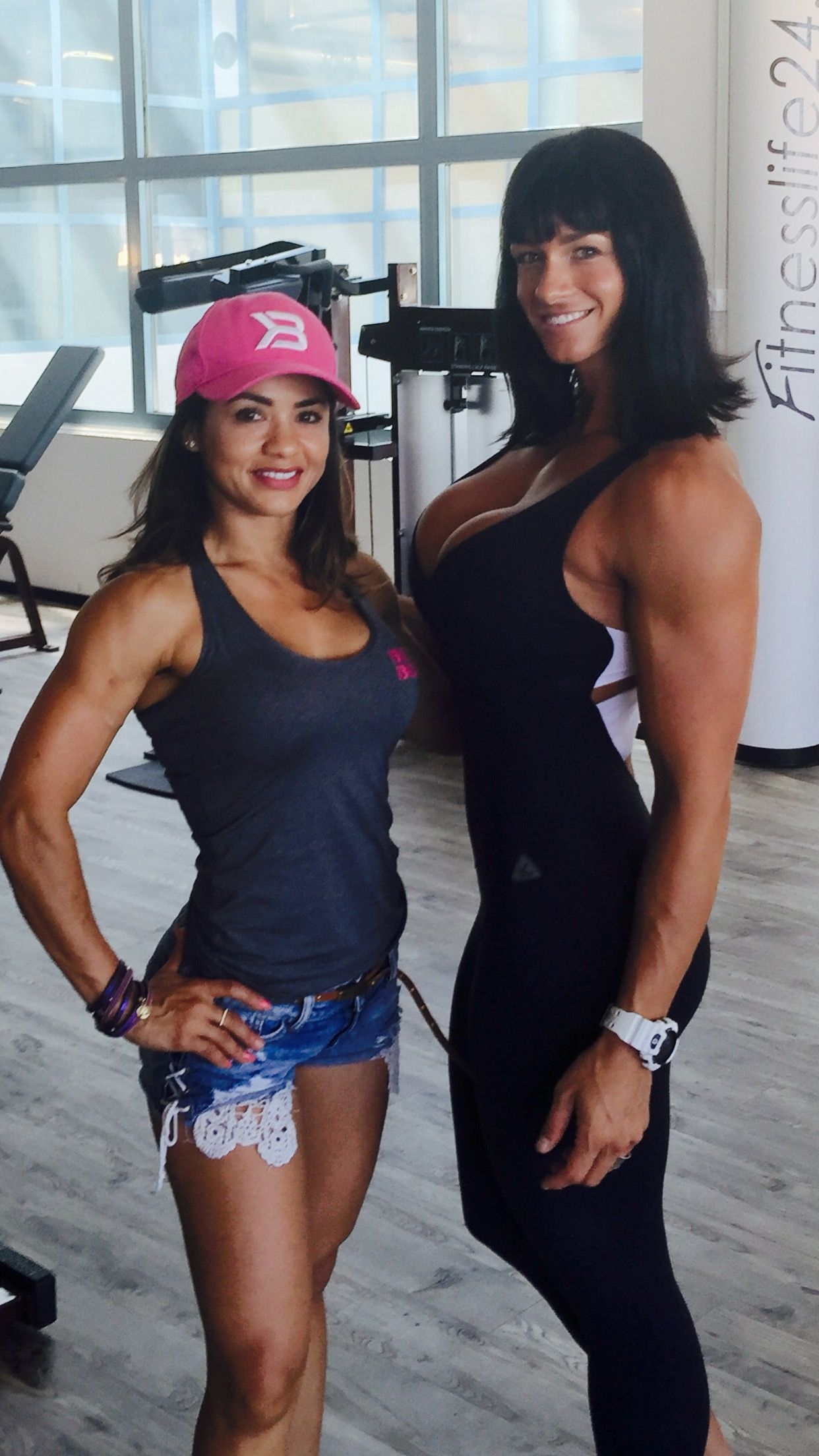 With Nucia looking forward to seeing and training with