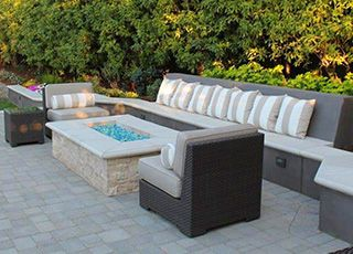 Fire Pit / Bench Seat | Shoreline Landscape Design