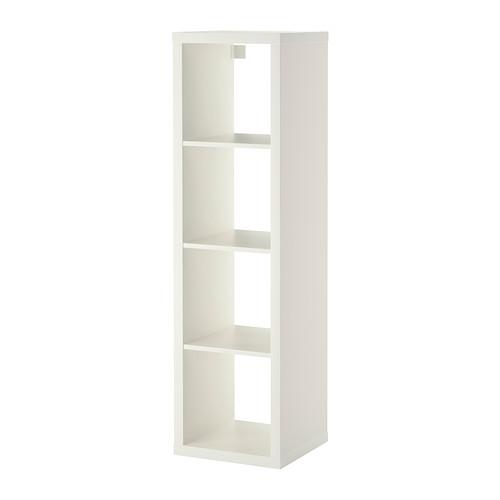KALLAX Reol IKEA Du kan vælge at placere den lodret eller vandret og bruge den som reol eller bænk.