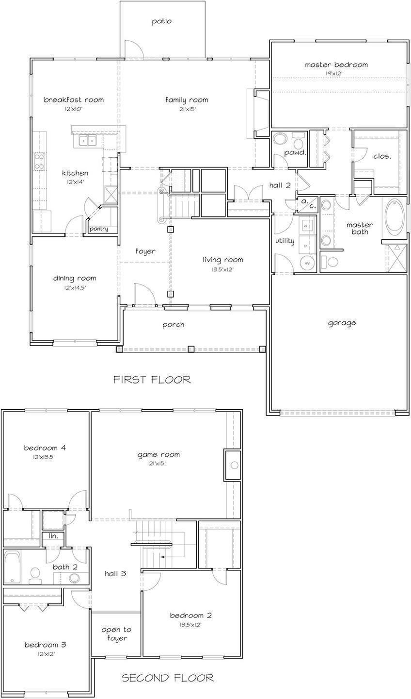 Newport Ii Boyl Floorplans Sunrise Homes