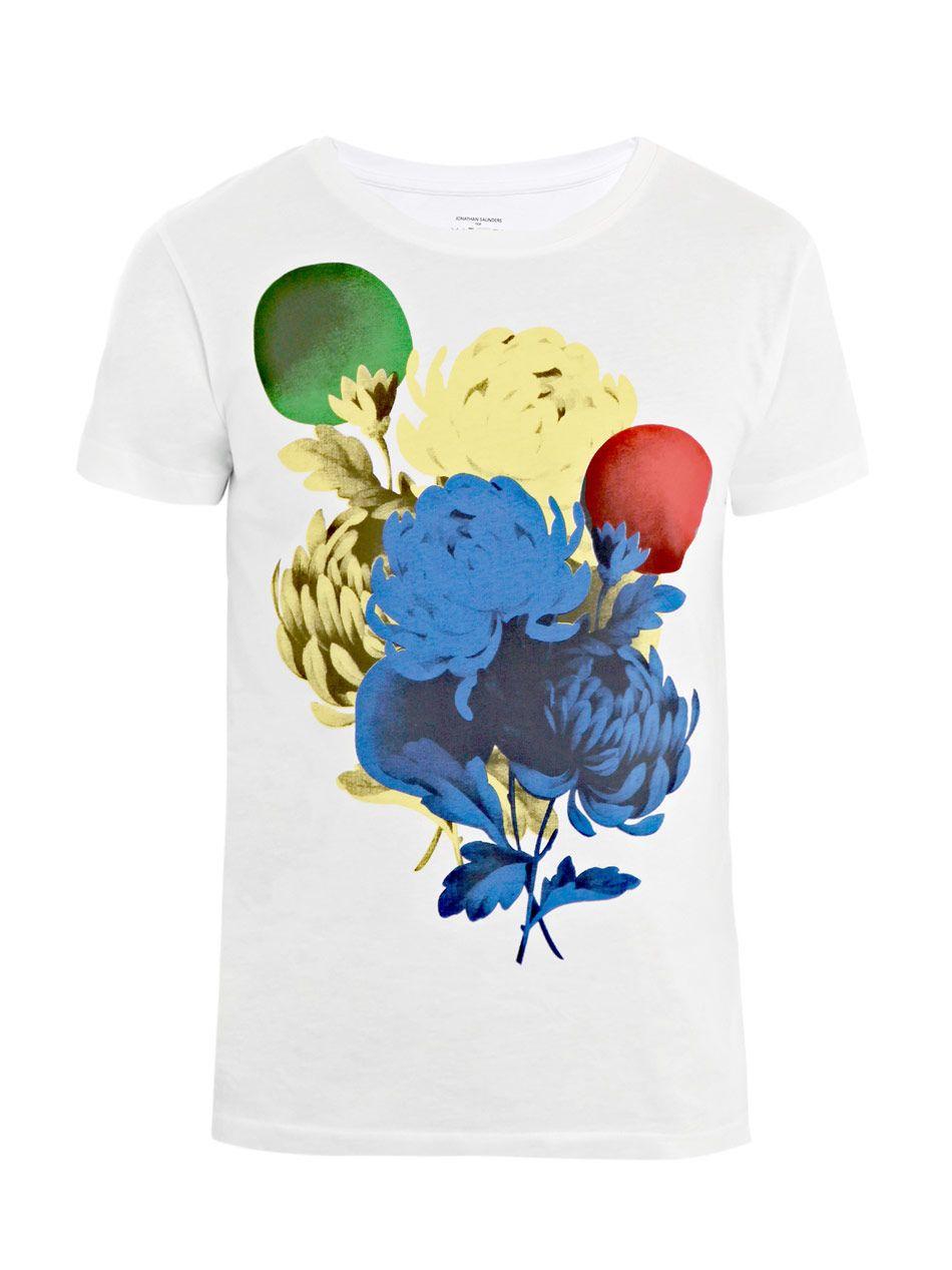 Jonathan Saunders Charity T Shirt The Look Gentleman Pinterest