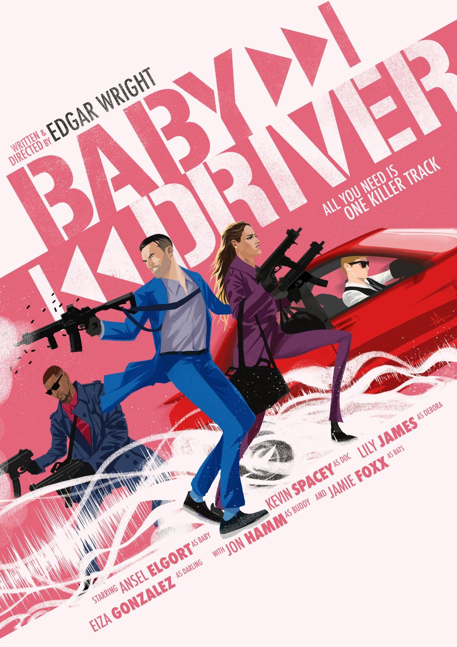 Baby Driver Baby Driver Braqueur De Banque Braqueur