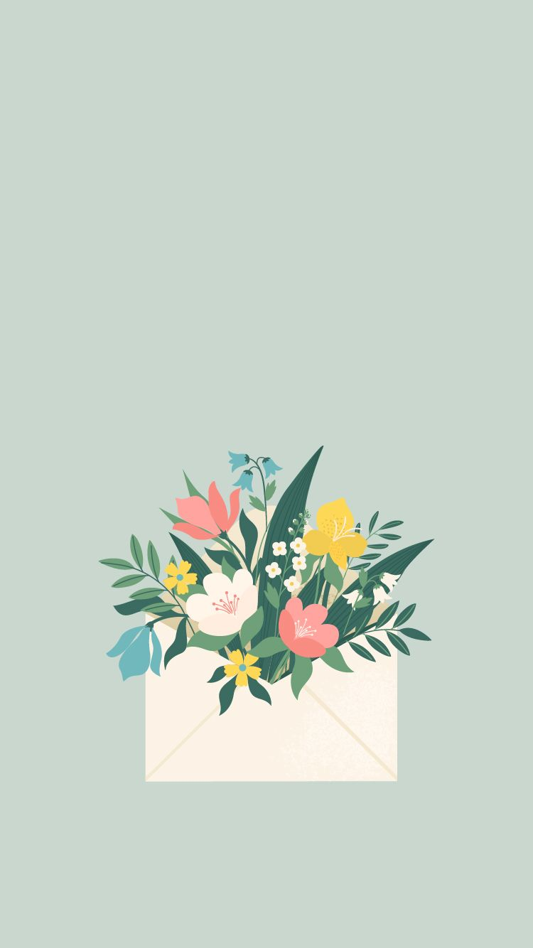 Free Phone Backgrounds For May Apple Slices Cute Flower Wallpapers Phone Wallpapers Vintage Vintage Phone Wallpaper