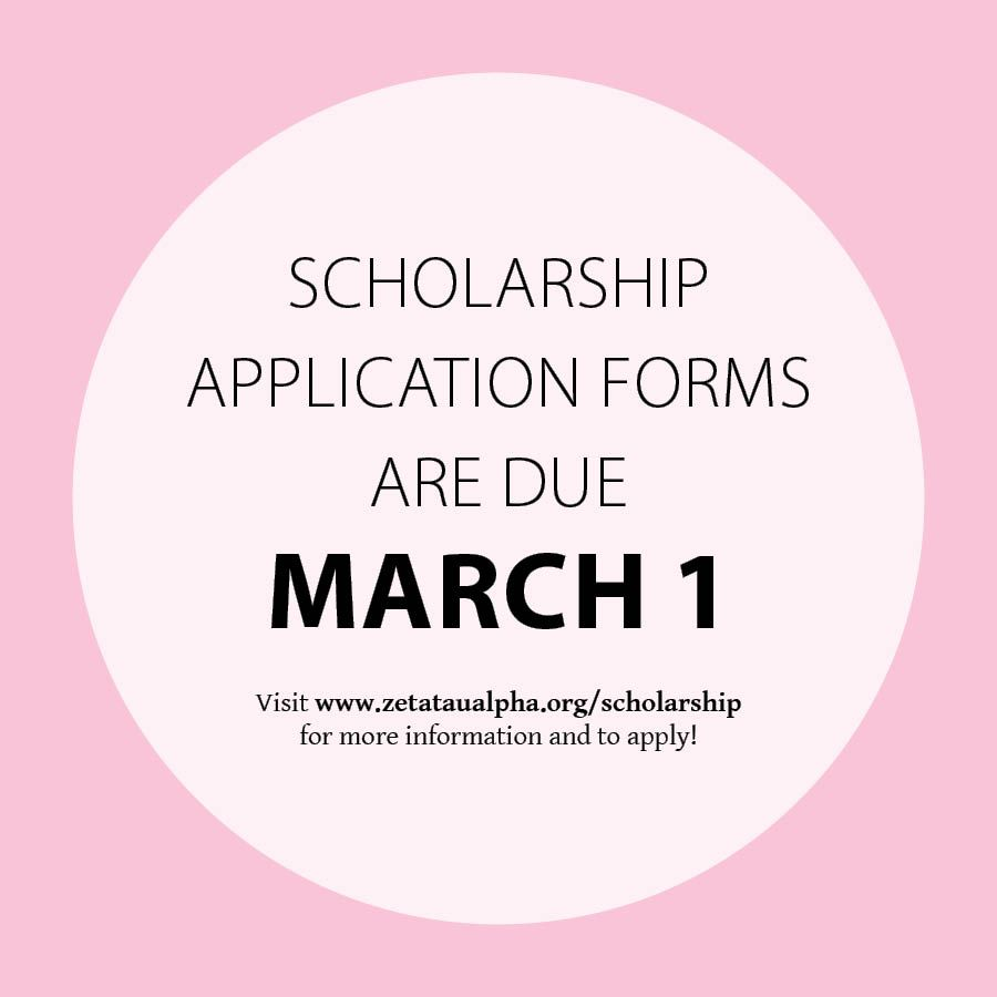 Zta Foundation Scholarship Applications And Recommendations Are