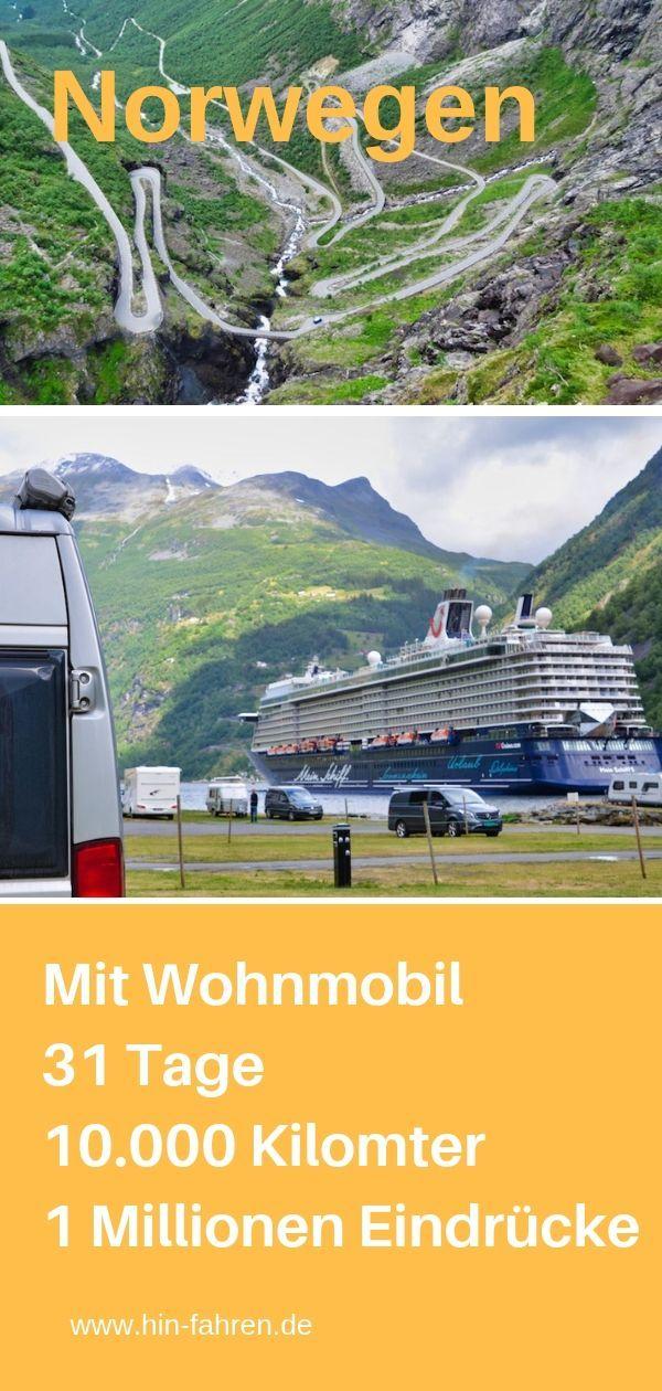 Photo of Highlights Nordkap und Norwegen in viereinhalb Wochen mit Wohnmobil