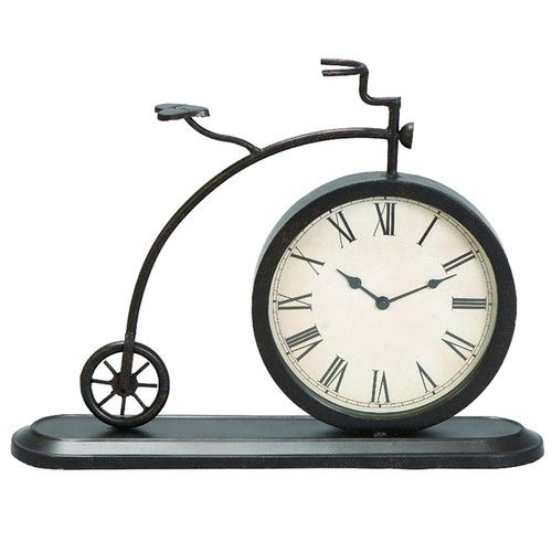 Found it at Wayfair - Old Fashioned Tricycle Tabletop and Mantle Accent Clock