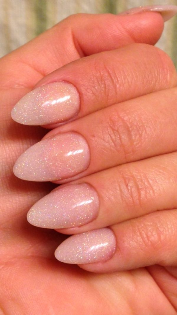 Almond Tip Nail Designs Tumblr