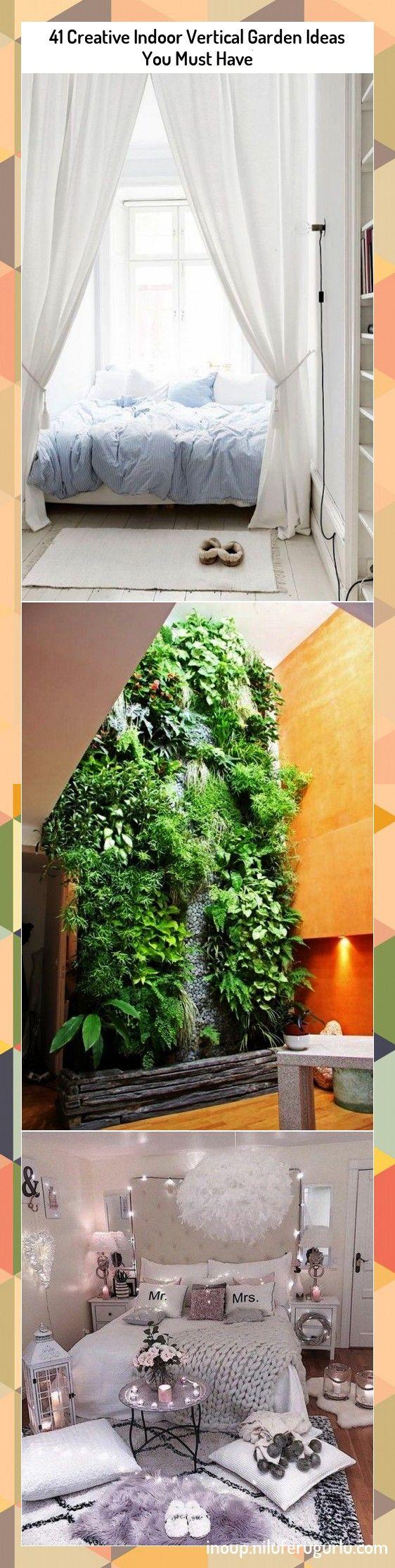 Creative Indoor Vertical Garden Ideas You Must Have41 Creative Indoor Vertical Garden Ideas You Must Have Como esse ambiente transmite tranquilidade zebodeko Confiram tam...