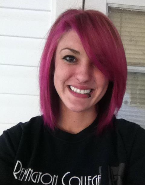 pink hair; don't care.