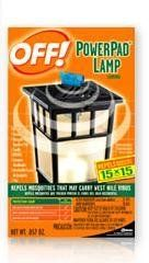 Johnson S C Inc 14157 Off Powerpad Mosquito Repellent Lamp By Johnson Http Www Amazon Com Dp B000b Mosquito Repellent Garden Pest Control Mosquito