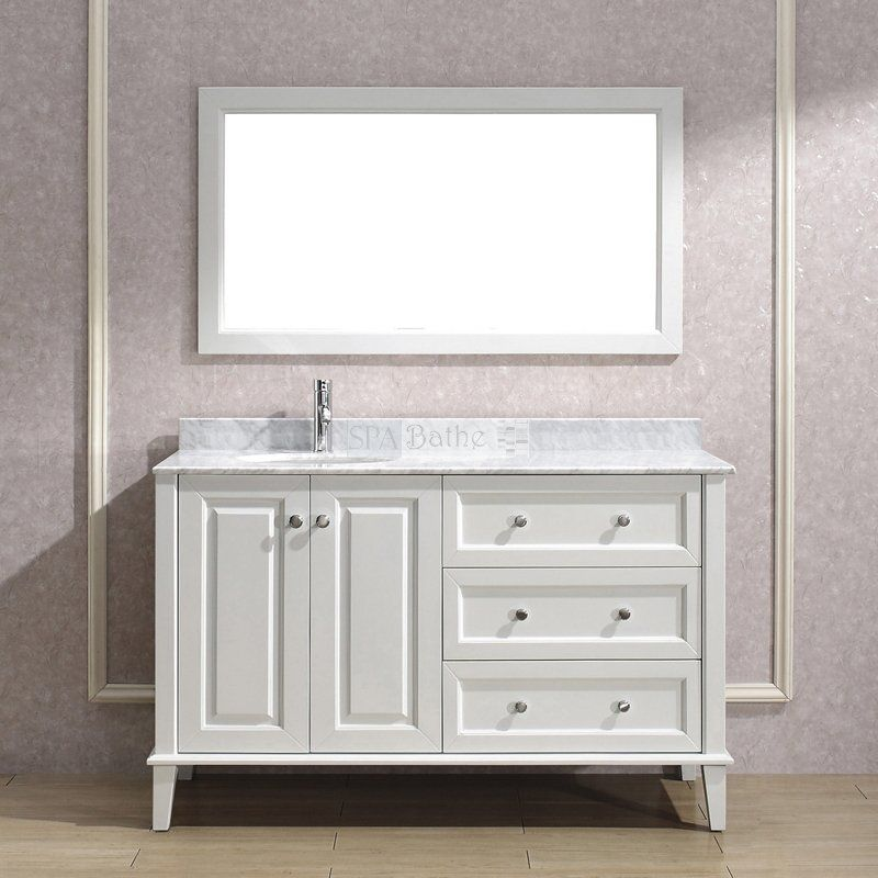 Spa Bathe LE55 Lauren Series Bathroom Vanity - Lowe\u0027s Canada Cararra