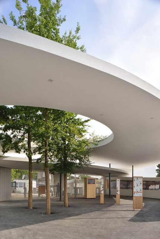 L3P Architects is part of architecture House Colonial Square Feet - Built by L3P Architects in Zurich, Switzerland with date 2014  Images by Sabrina Scheja  The Zurich Zoo, situated on Zurichberg overlooking Zurich, is one of the most visited sights in Zurich  Due to the co