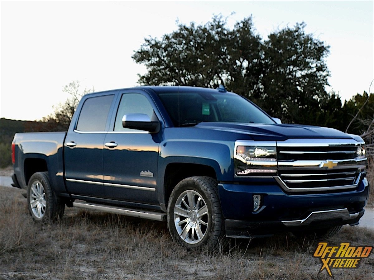 2016 chevrolet silverado 1500 high country 4x4 review off road features pinterest. Black Bedroom Furniture Sets. Home Design Ideas