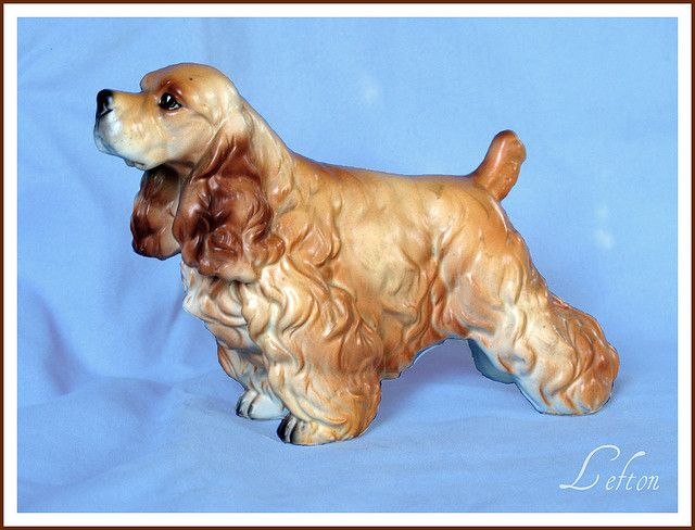Lefton Cocker Spaniel By Dog Happy Art Via Flickr Spaniel Art