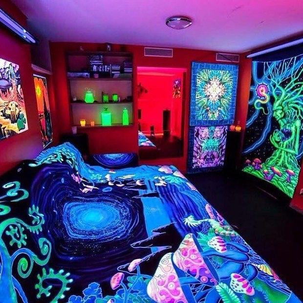 Pin de julieta valdovinos en cuartos pinterest - Decoracion hippie habitacion ...