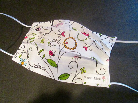 Surgical Face Mask - Surgical Mask - Reusable Face Mask - Eco Friendly - Cotton Surgical Mask - Women's Surgical Mask - Cotton Face Mask