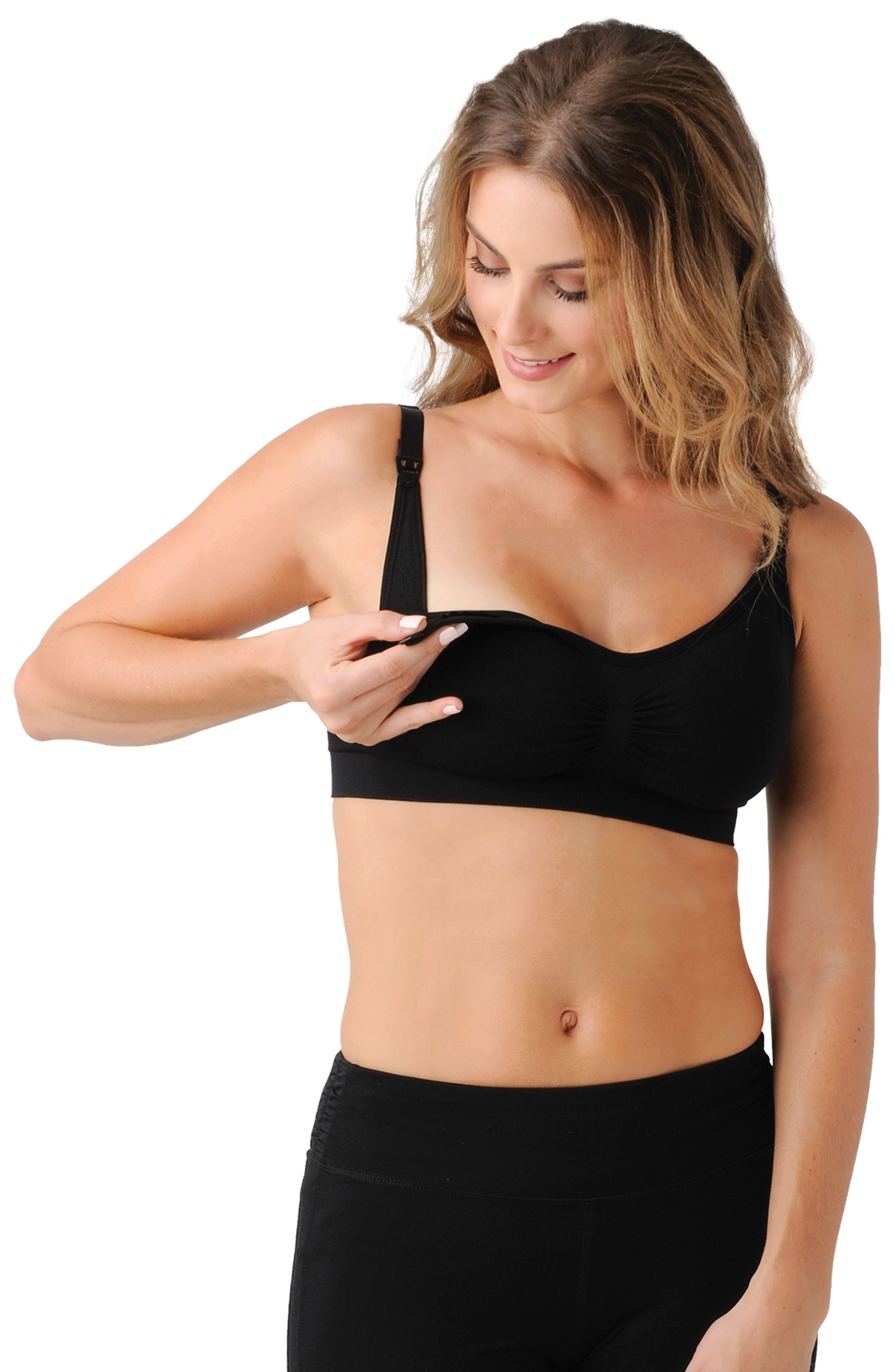 a3bf49610dbff The Bandita Nursing Bra is the best in its clasp! Made from super soft,  breathable stretch fabric, this maternity and nursing bra features a  seamless, ...