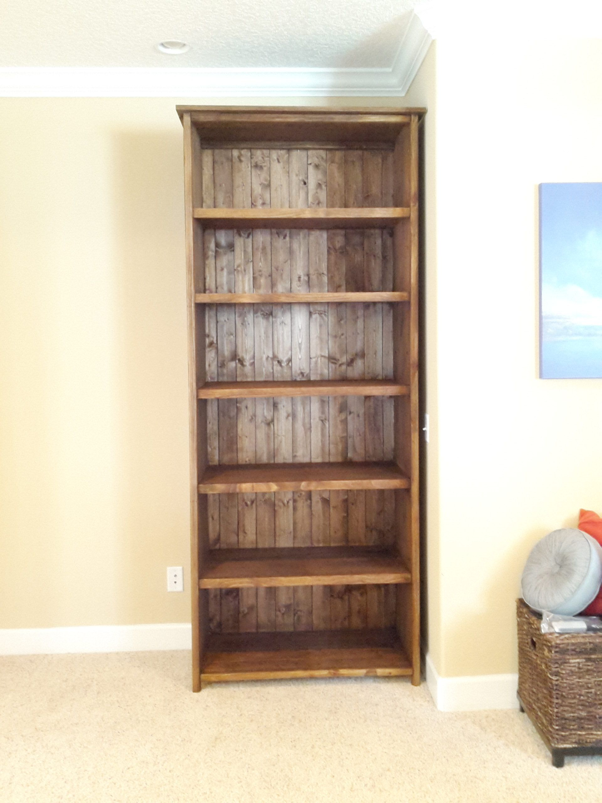 8 Foot Kentwood Bookshelf Do It Yourself Home Projects From Ana