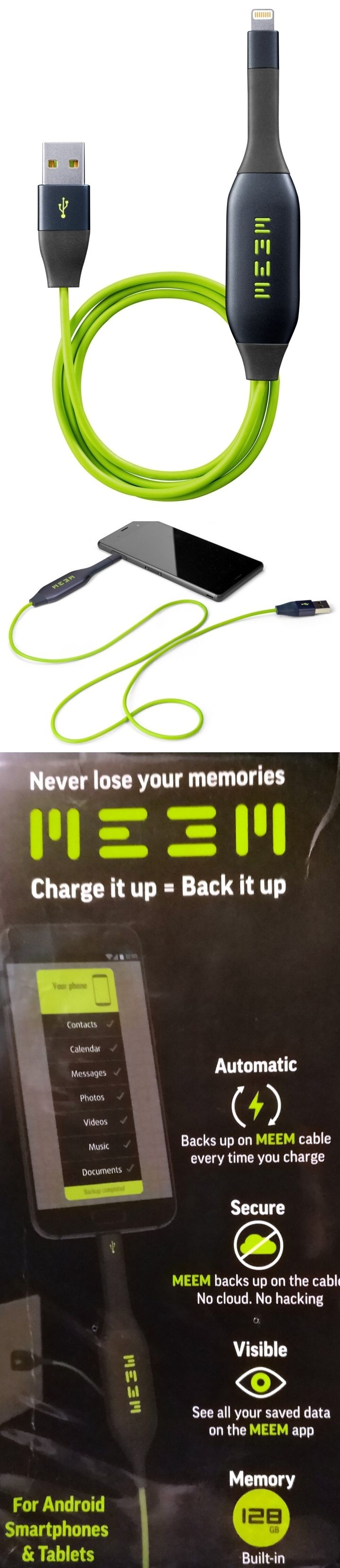 Phone packed with holiday photos? The MEEM phone charger