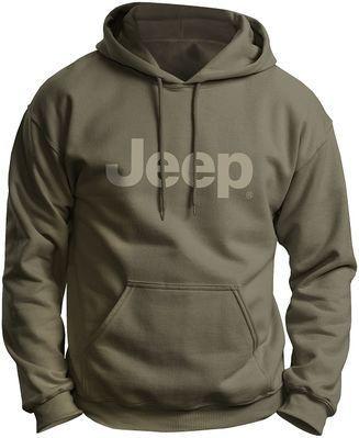 18baca323 Jeep Logo Green Hoodie | Jeeps | Jeep clothing, Jeep wj, Jeep