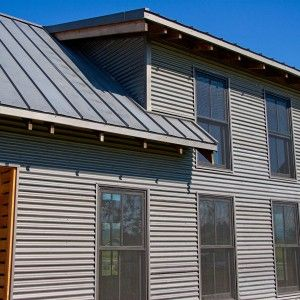 Metal Siding Panels Pricing Bridger Steel Bonderized Metal Roofing And Siding Panel Corrugated Corrugated Metal Siding Steel Siding Metal Siding House
