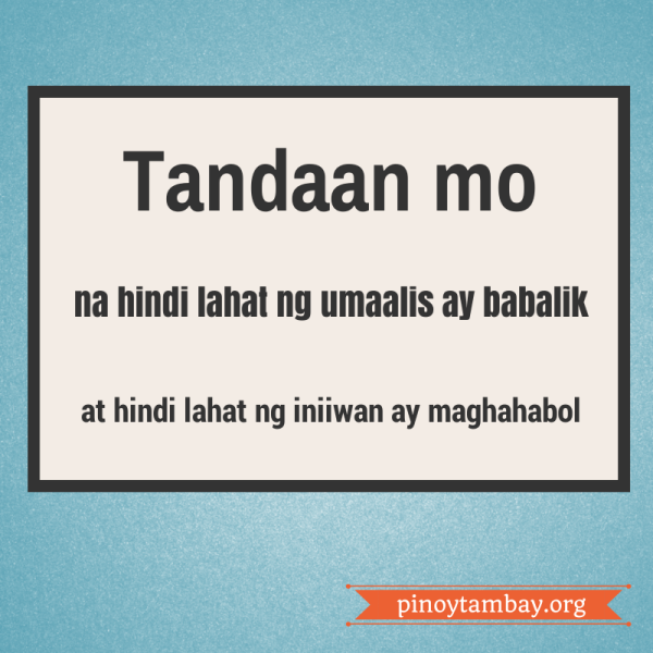 Tagalog Quotes Pag Alis Tagalog Quotes Funny Tagalog Quotes Tagalog Love Quotes