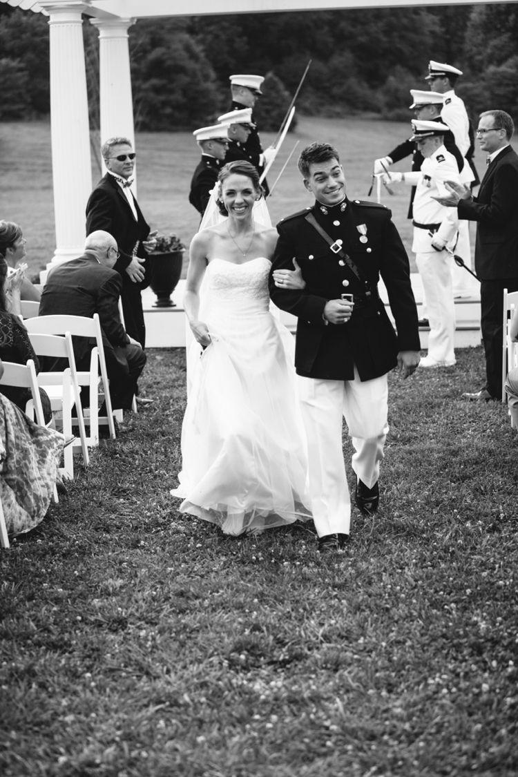 Kristen paul springfield manor wedding ceremony pinterest