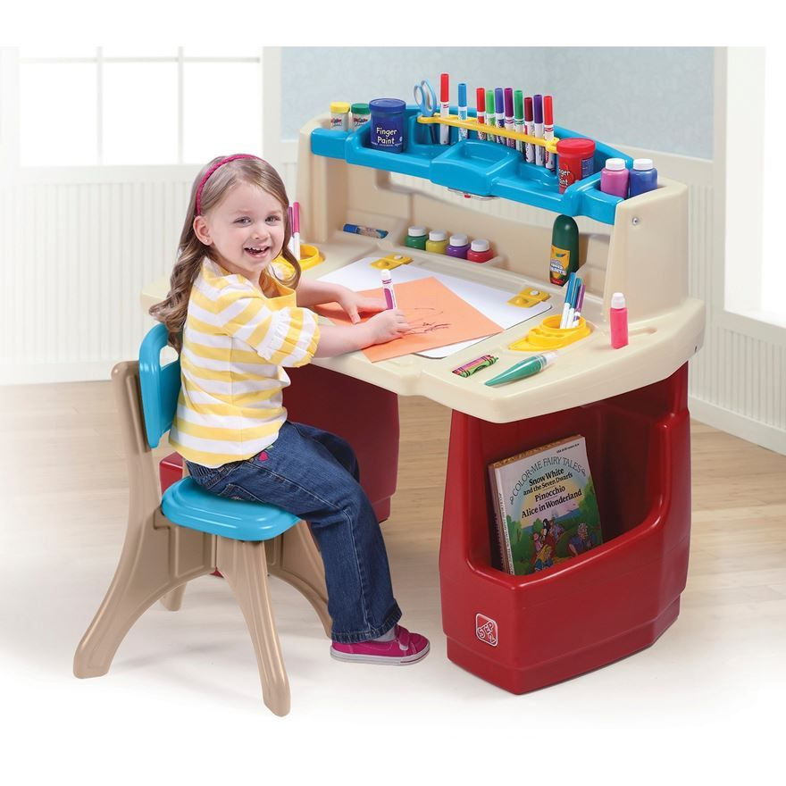 Fisher Price Art Desk (Samantha... this is an older version of ...